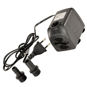 Pompa Acqua Immersione 16W 220V 1100L/H Tubo da mm.Ø15/20