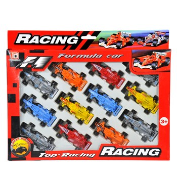 Auto Formula F1 Racing cm.7,5 Set pz.12